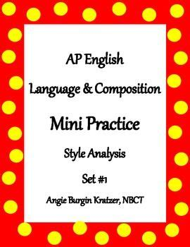 2018 AP English Language and Composition Exam The
